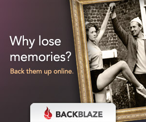 Why lose memories? Back them up online.